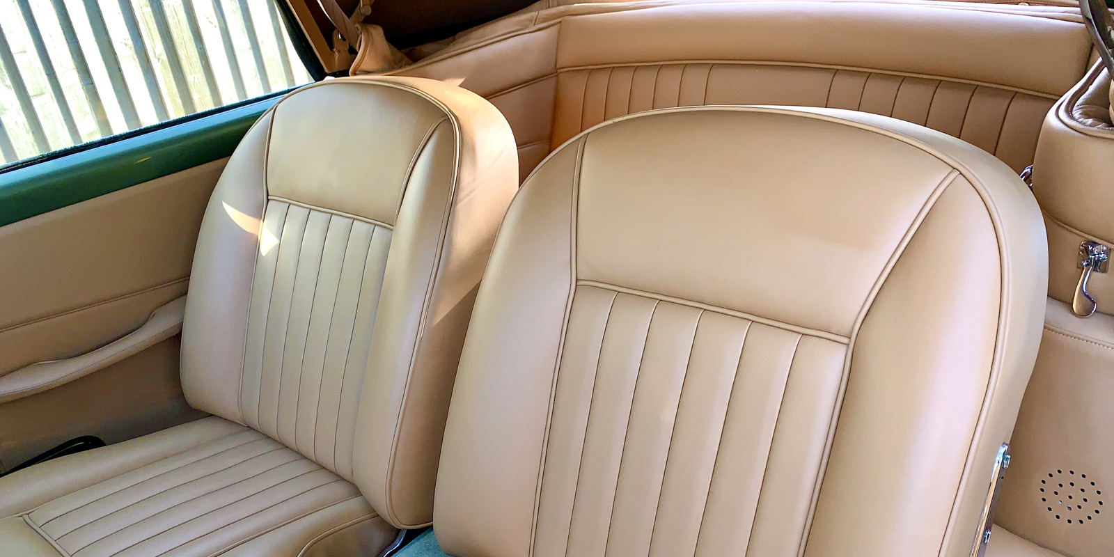 Upholstery service for cars